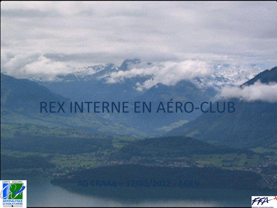 REX INTERNE EN AÉRO-CLUB