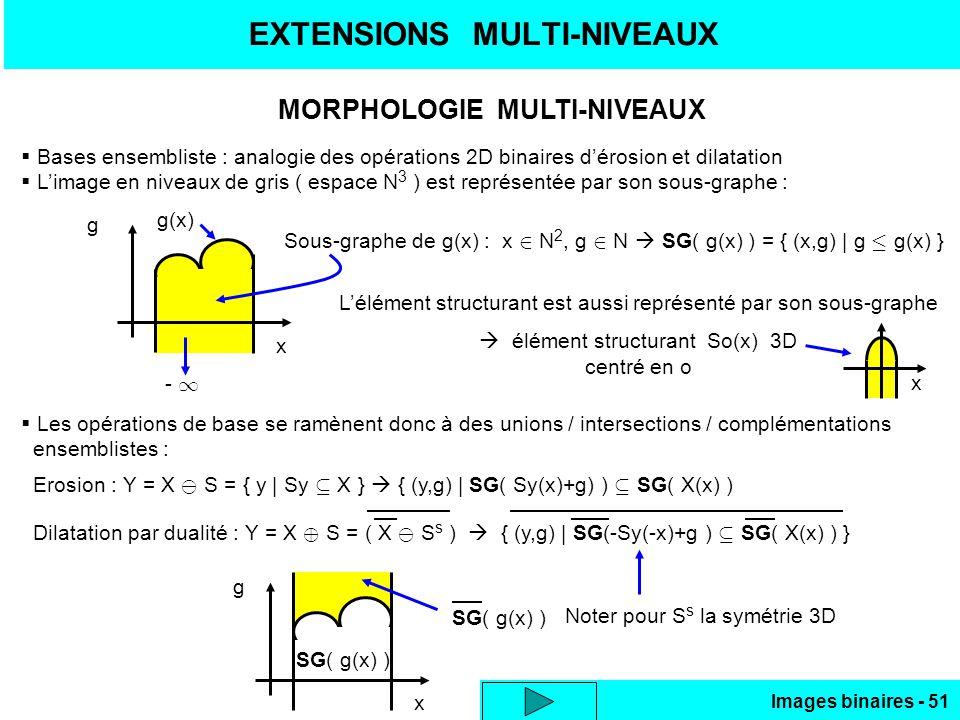 EXTENSIONS MULTI-NIVEAUX