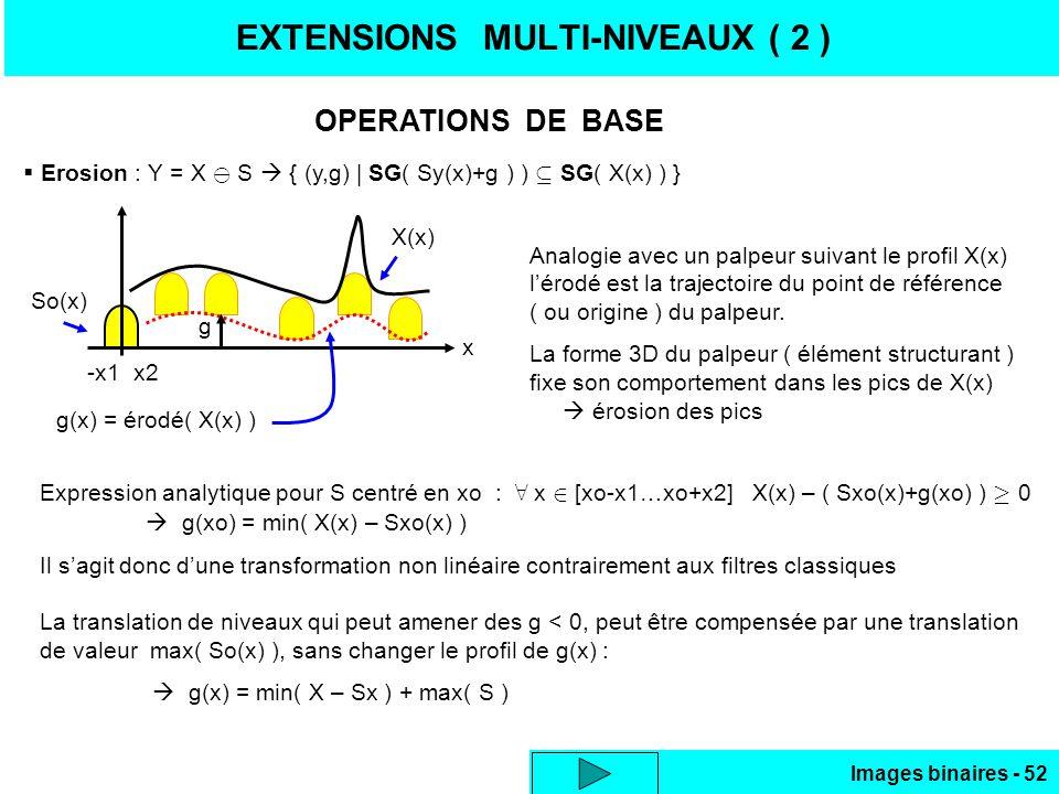EXTENSIONS MULTI-NIVEAUX ( 2 )