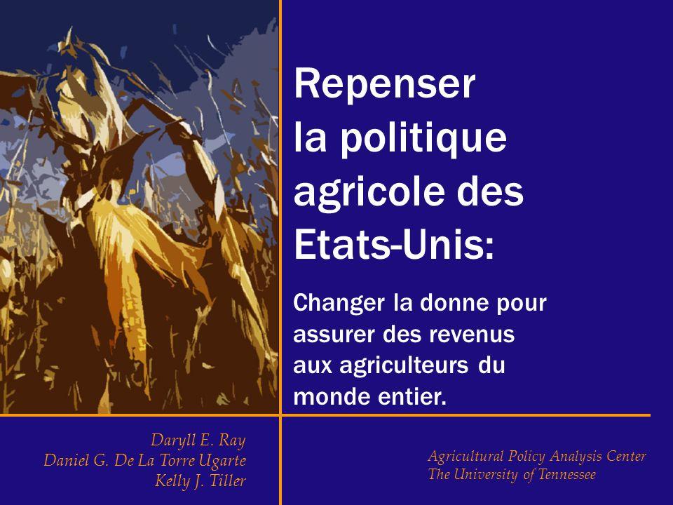 agricole des Etats-Unis: