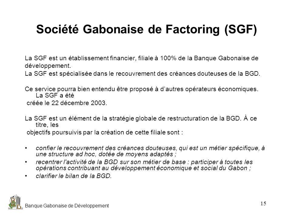 Société Gabonaise de Factoring (SGF)