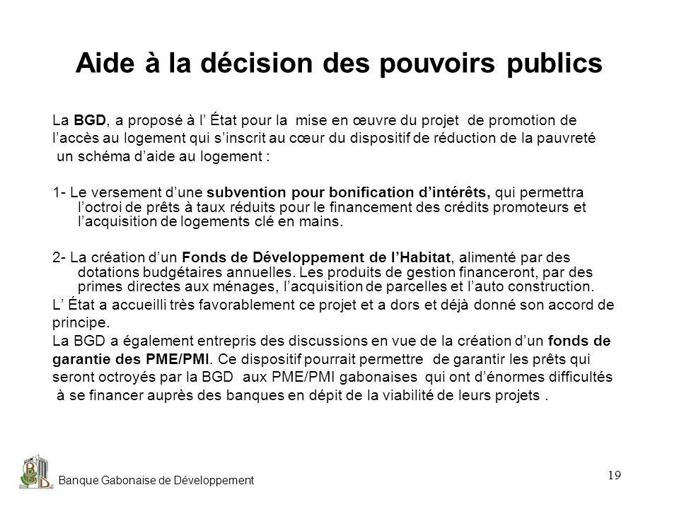 Aide à la décision des pouvoirs publics