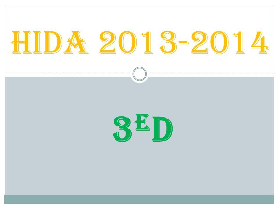 HIDA 2013-2014 3eD