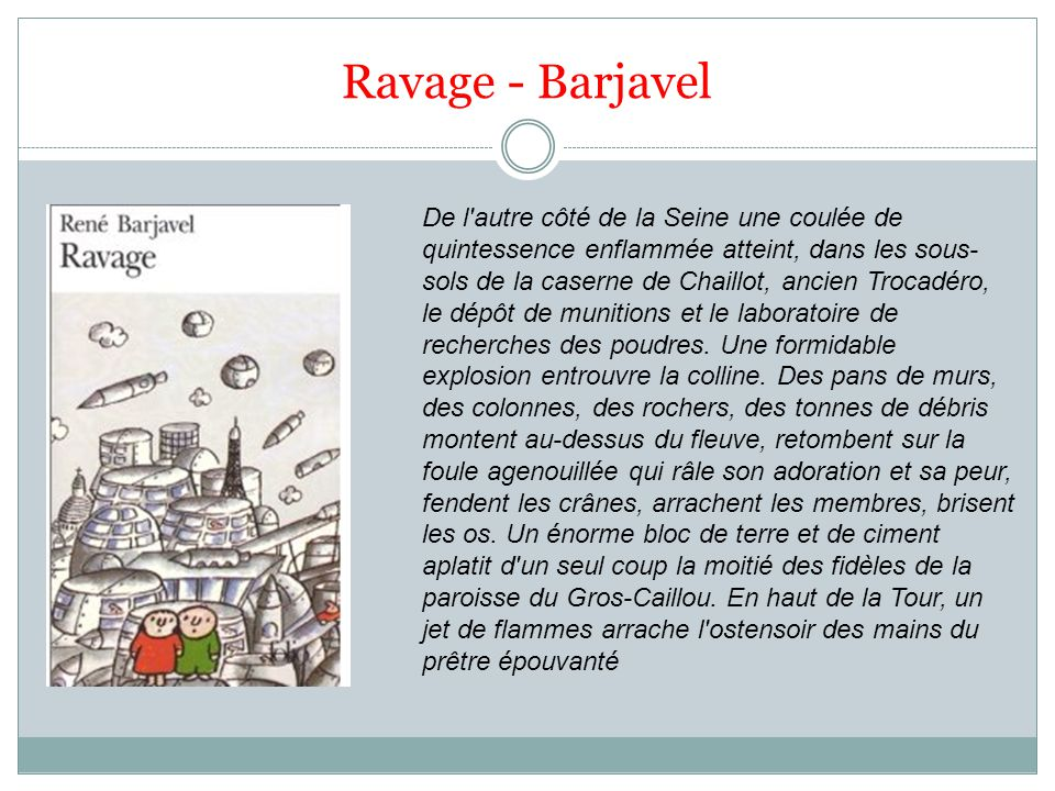 Ravage - Barjavel