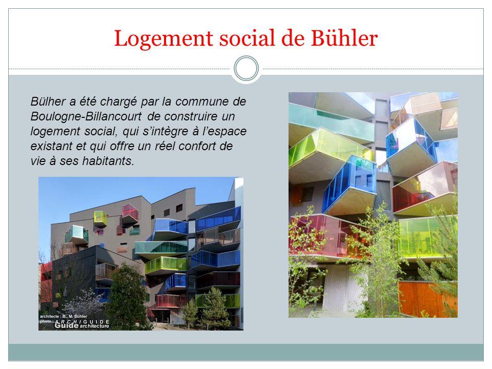 Logement social de Bühler