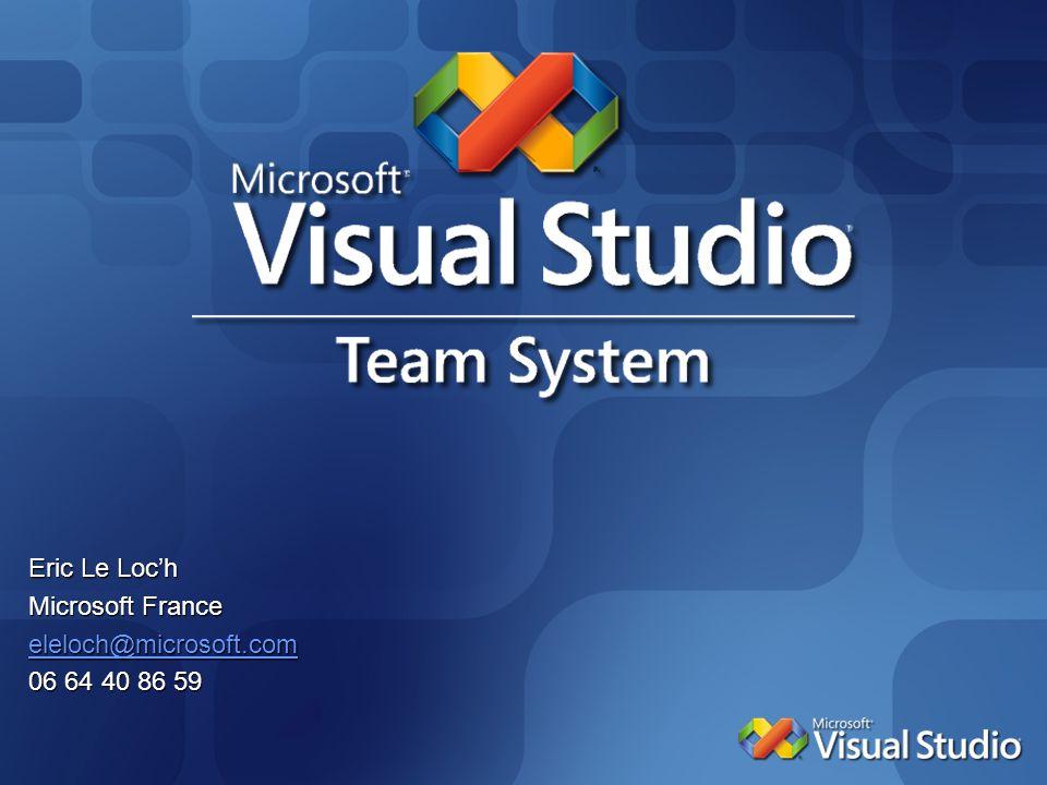 Eric Le Loc'h Microsoft France eleloch@microsoft.com 06 64 40 86 59