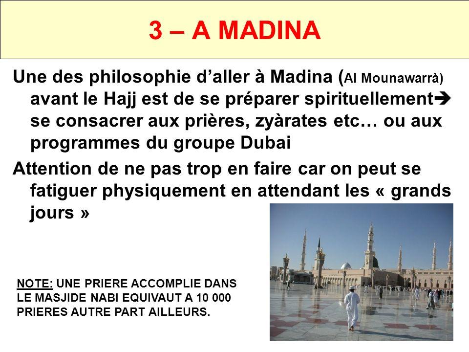 3 – A MADINA