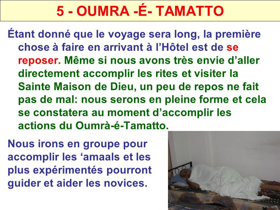 5 - OUMRA -É- TAMATTO