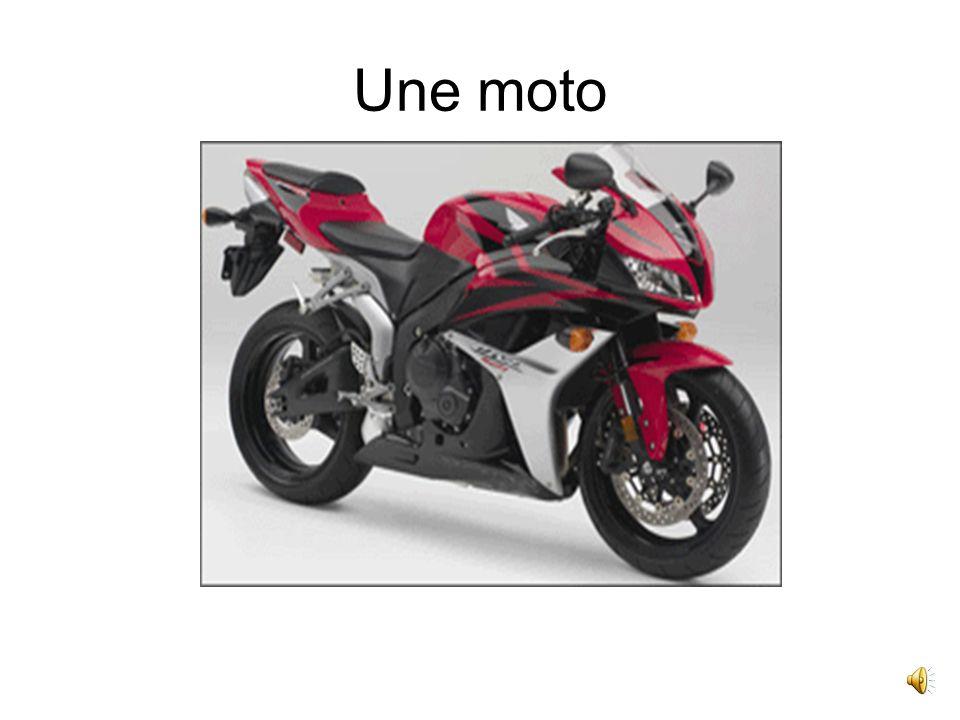 Une moto