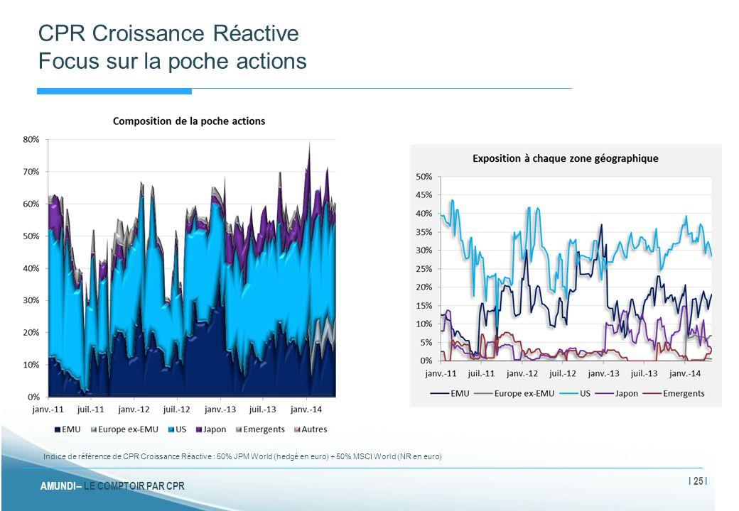 CPR Croissance Réactive Focus sur la poche actions