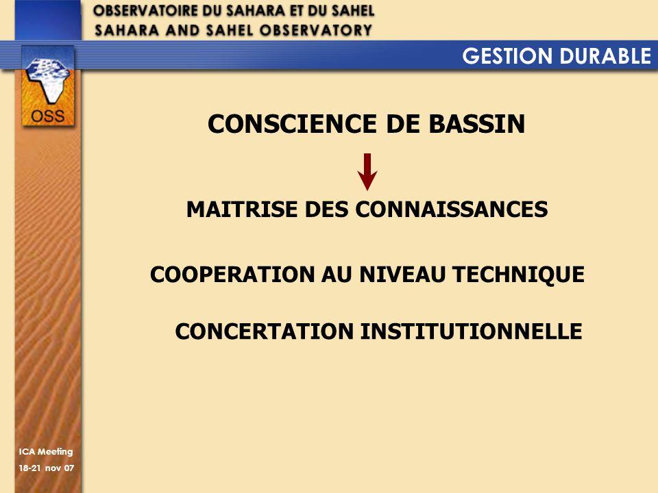 MAITRISE DES CONNAISSANCES COOPERATION AU NIVEAU TECHNIQUE