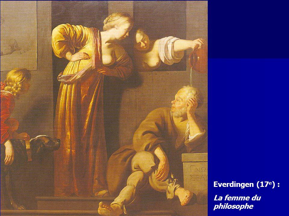Everdingen (17e) : La femme du philosophe