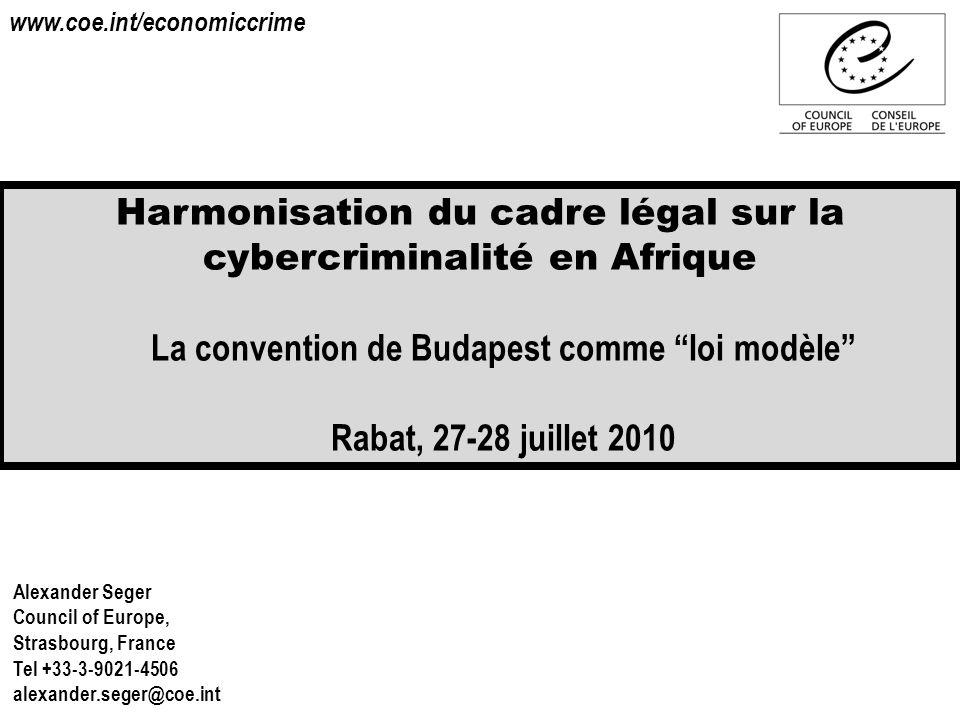 La convention de Budapest comme loi modèle