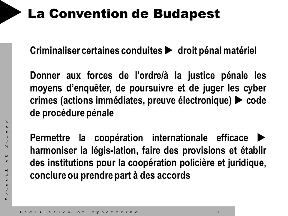 La Convention de Budapest
