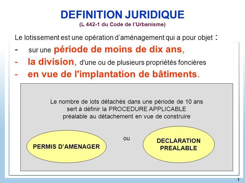 Bâtiment définition juridique