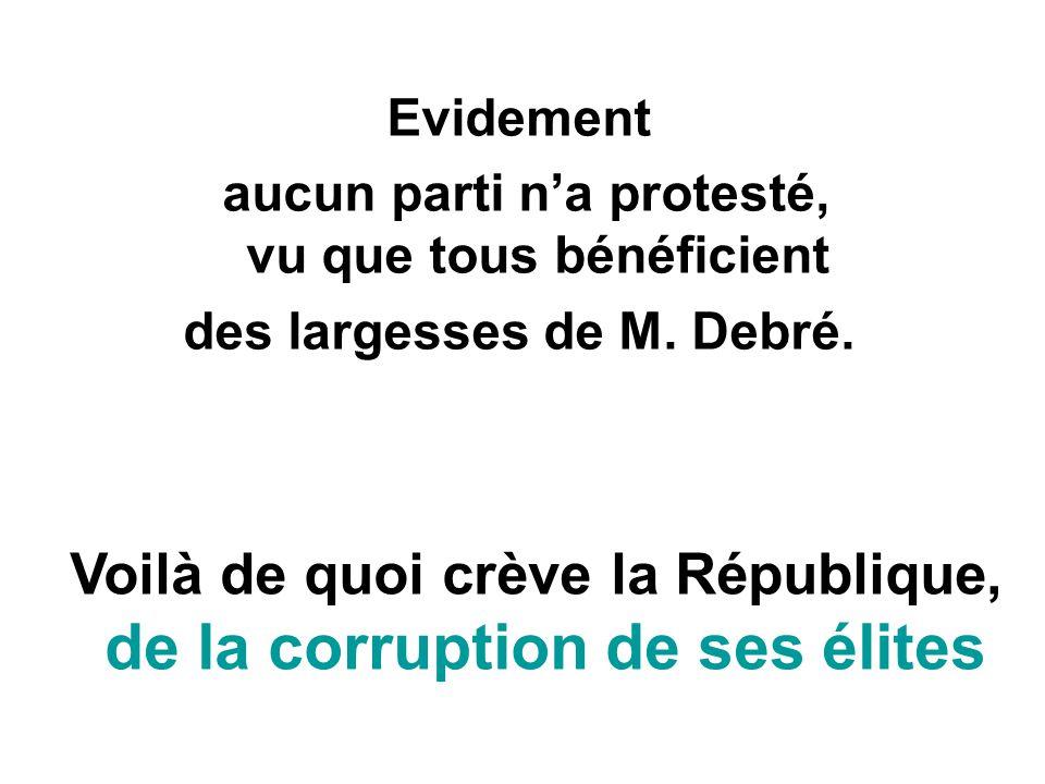 de la corruption de ses élites