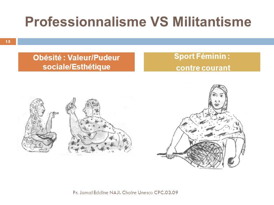 Professionnalisme VS Militantisme