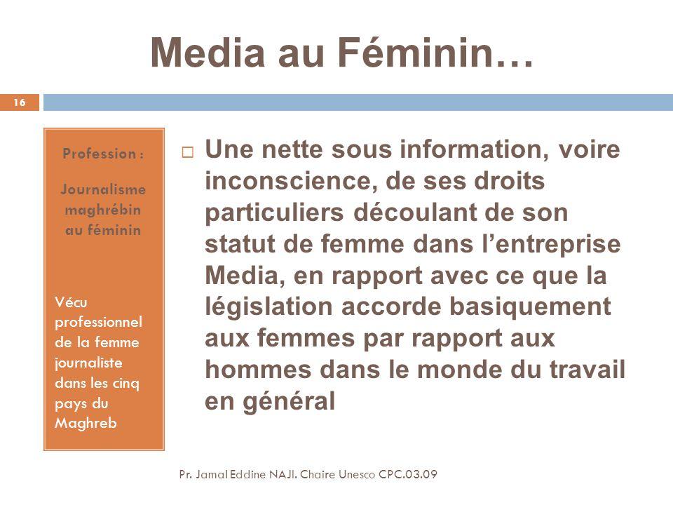 Journalisme maghrébin au féminin