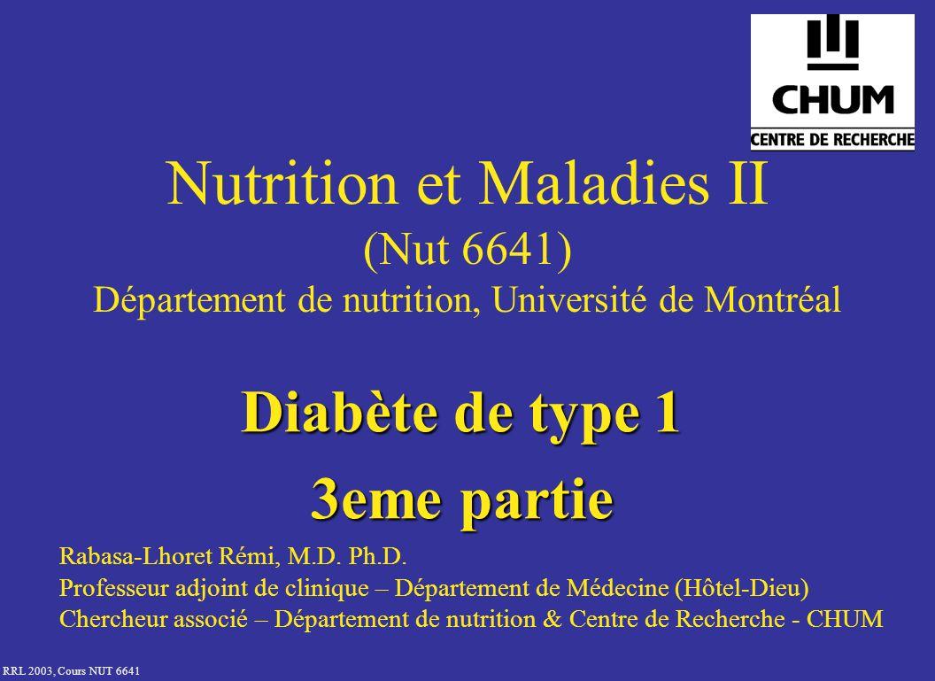 Diabète de type 1 3eme partie