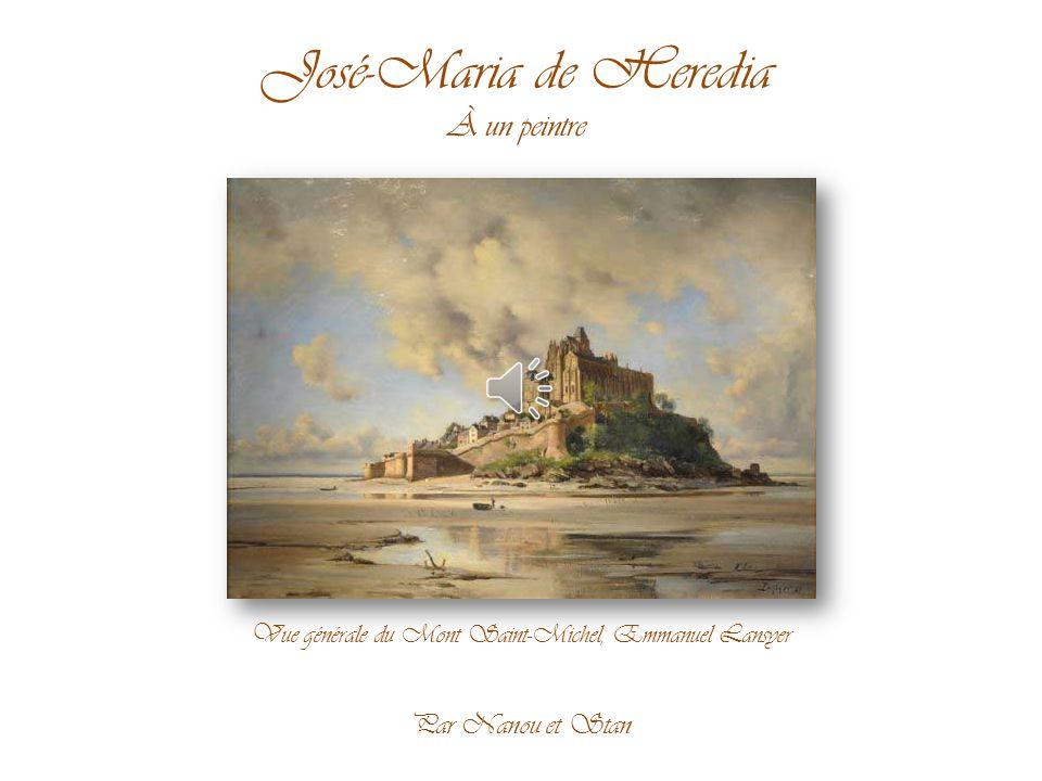 Vue générale du Mont Saint-Michel, Emmanuel Lansyer