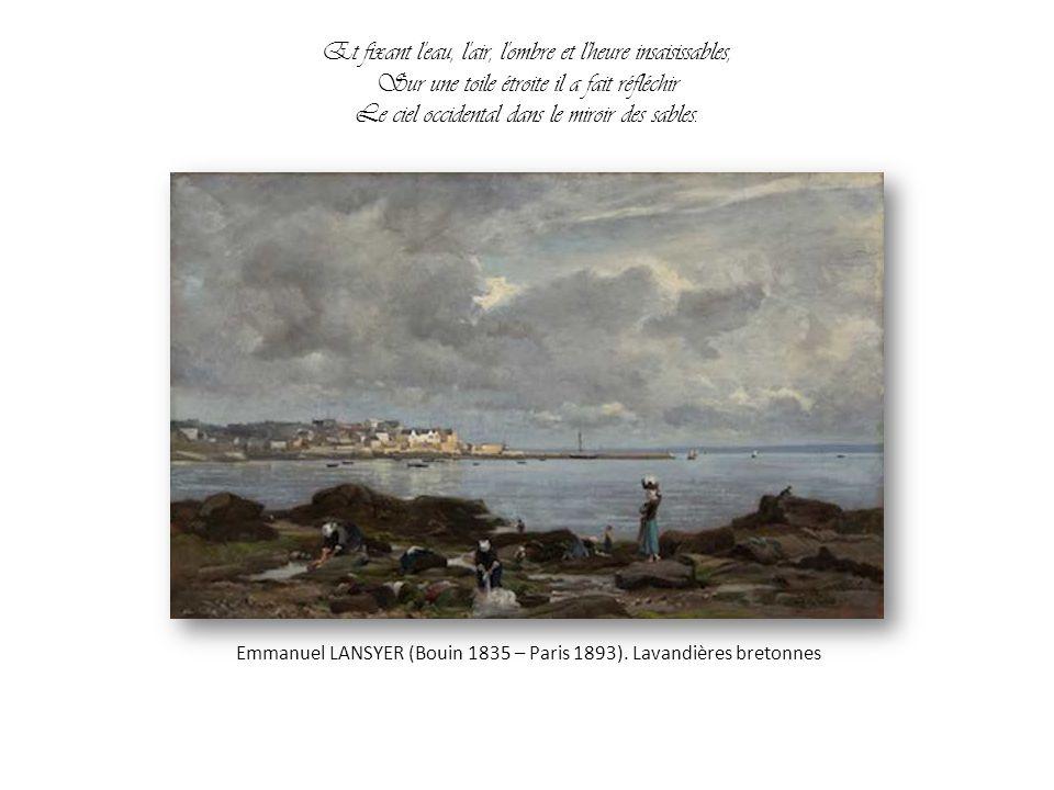 Vue g n rale du mont saint michel emmanuel lansyer ppt - Ombre et air ...