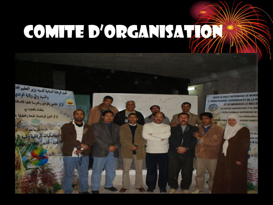 COMITE D'ORGANISATION