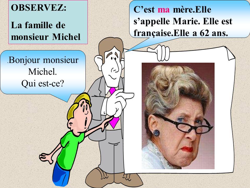 .Bonjour monsieur Michel.
