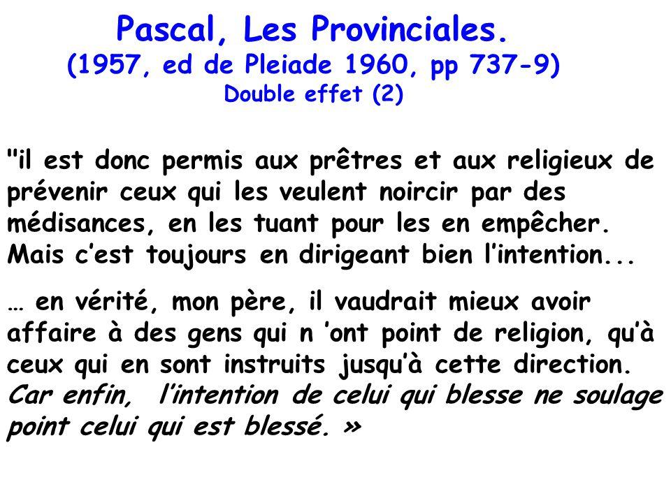 Pascal, Les Provinciales