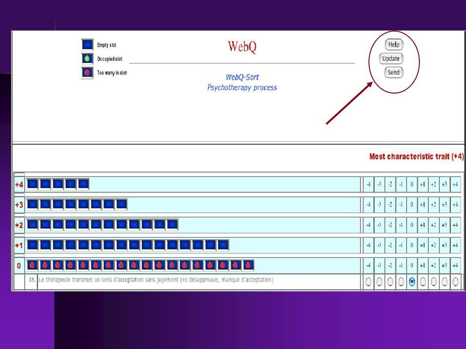 Rapidement, voici la page du petit logiciel que nous utilisons pour faire nos évaluation.