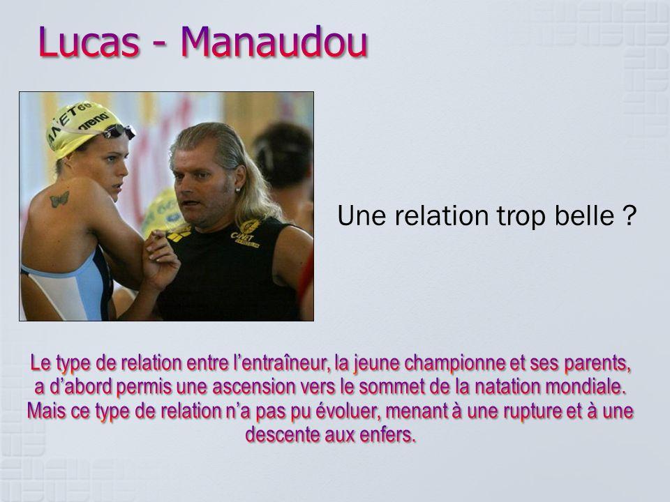 Lucas - Manaudou Une relation trop belle