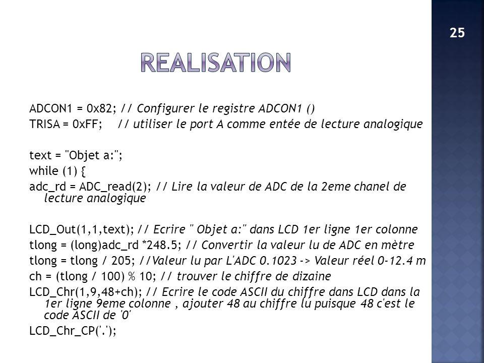 REALISATION 25.