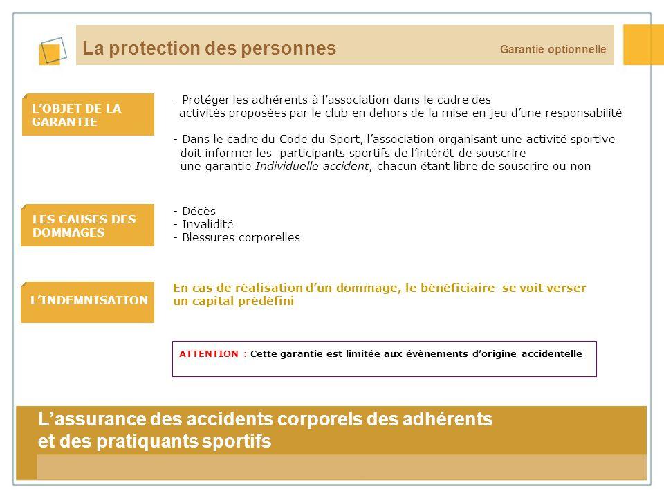 La protection des personnes
