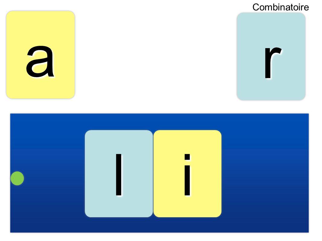 Combinatoire a r l i