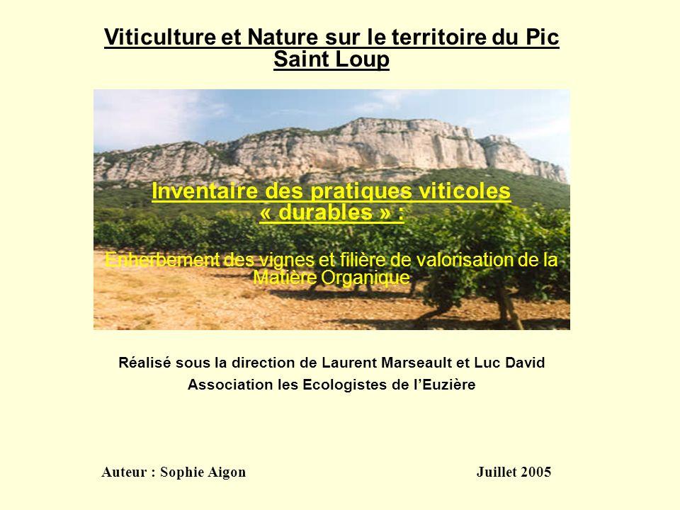 Viticulture et Nature sur le territoire du Pic Saint Loup