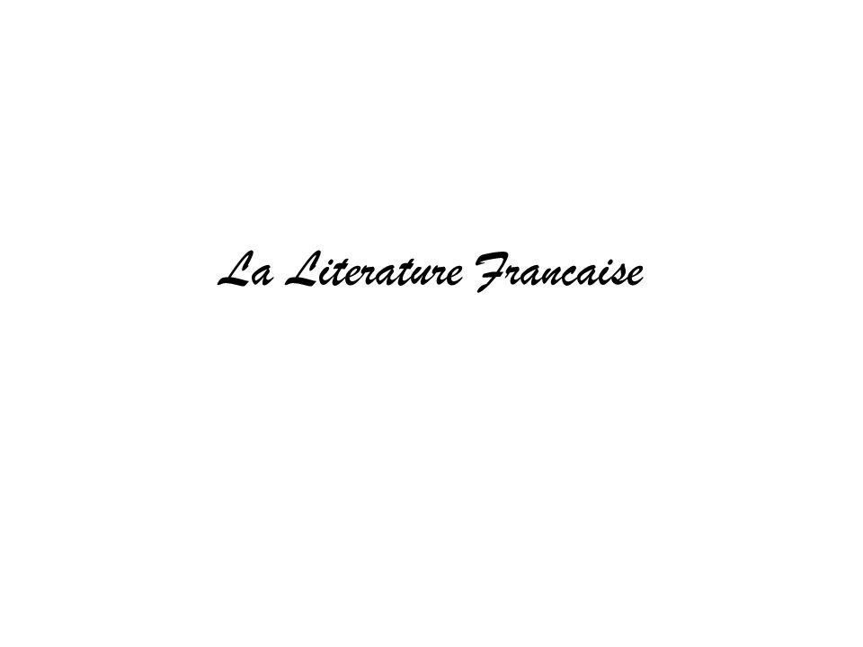 La Literature Francaise