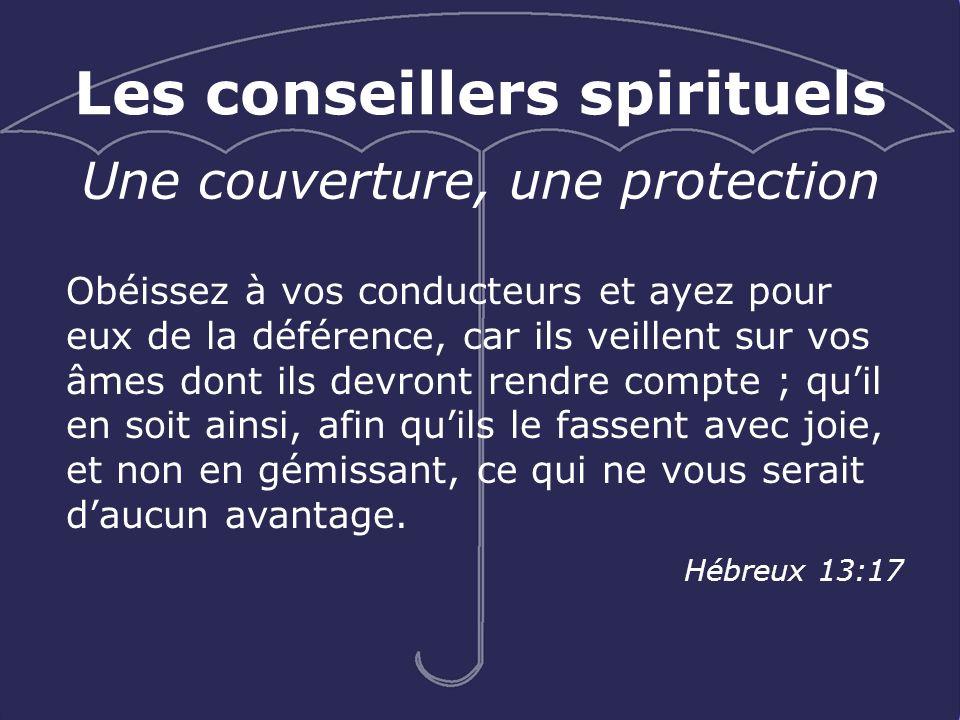 Les conseillers spirituels