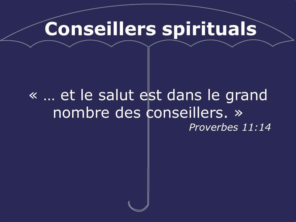Conseillers spirituals