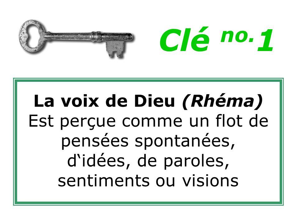Clé no.1 La voix de Dieu (Rhéma)