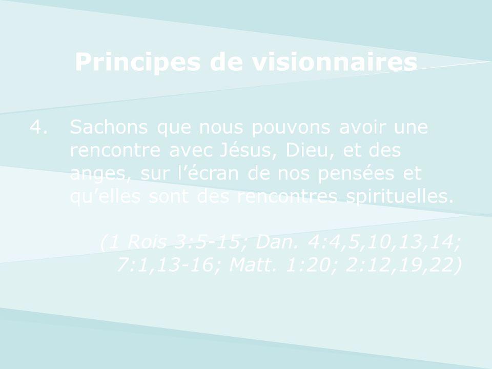 Principes de visionnaires