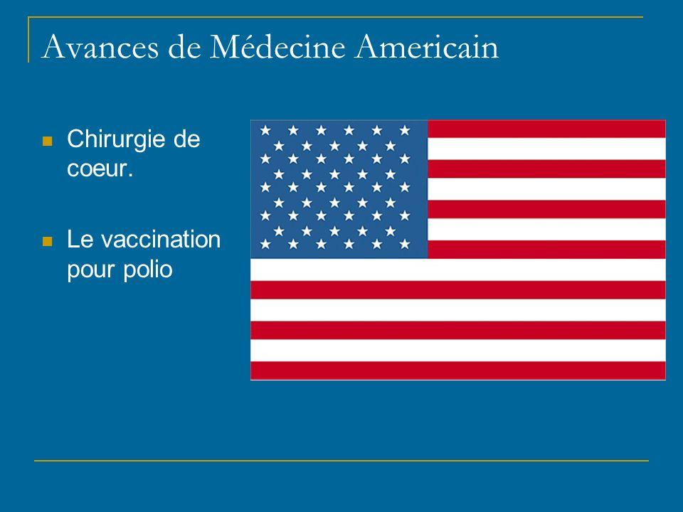 Avances de Médecine Americain