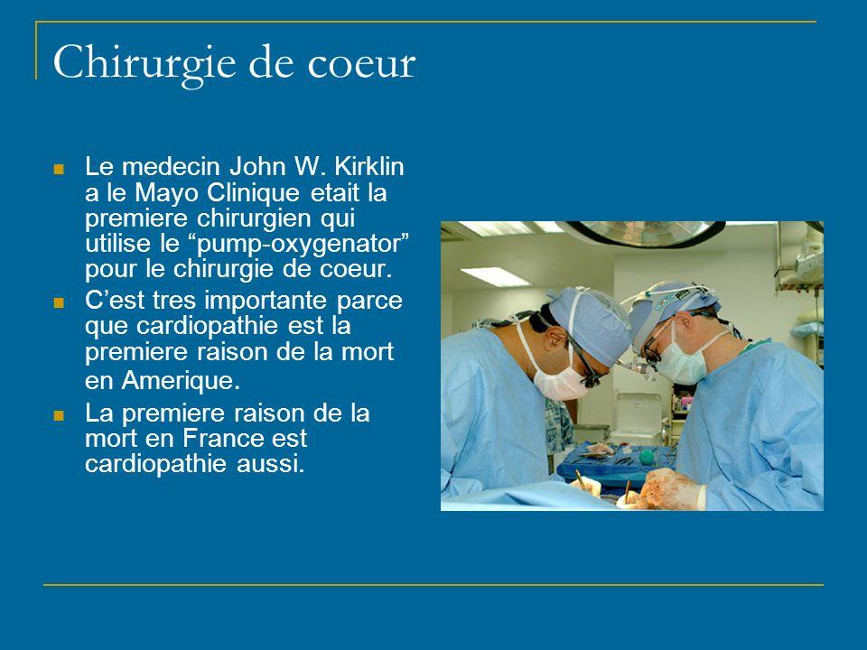 Chirurgie de coeur