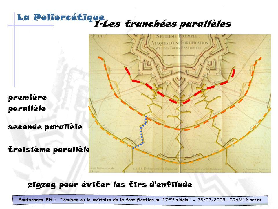1-Les tranchées parallèles