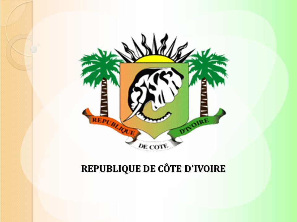 REPUBLIQUE DE CÔTE D'IVOIRE