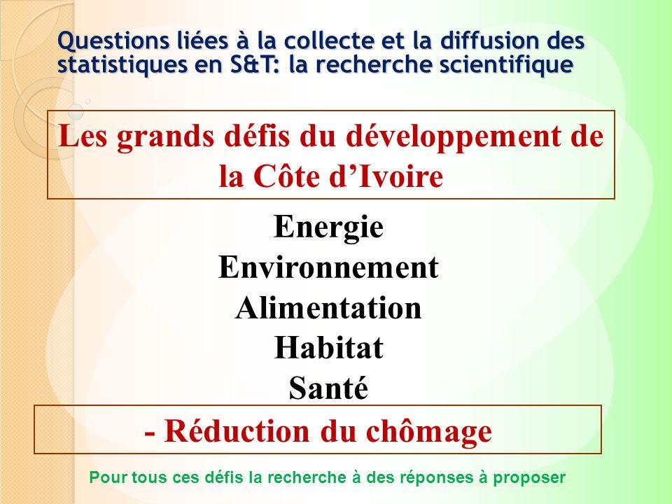 Les grands défis du développement de la Côte d'Ivoire