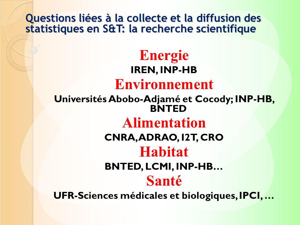 Energie Environnement Alimentation Habitat Santé