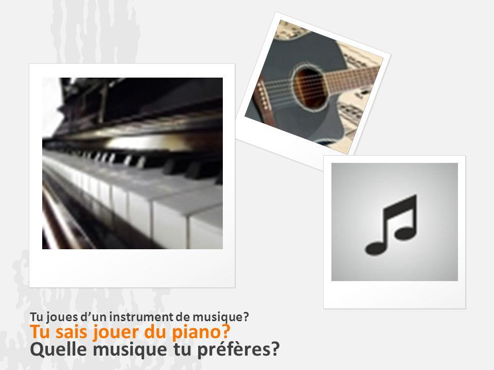 Quelle musique tu préfères
