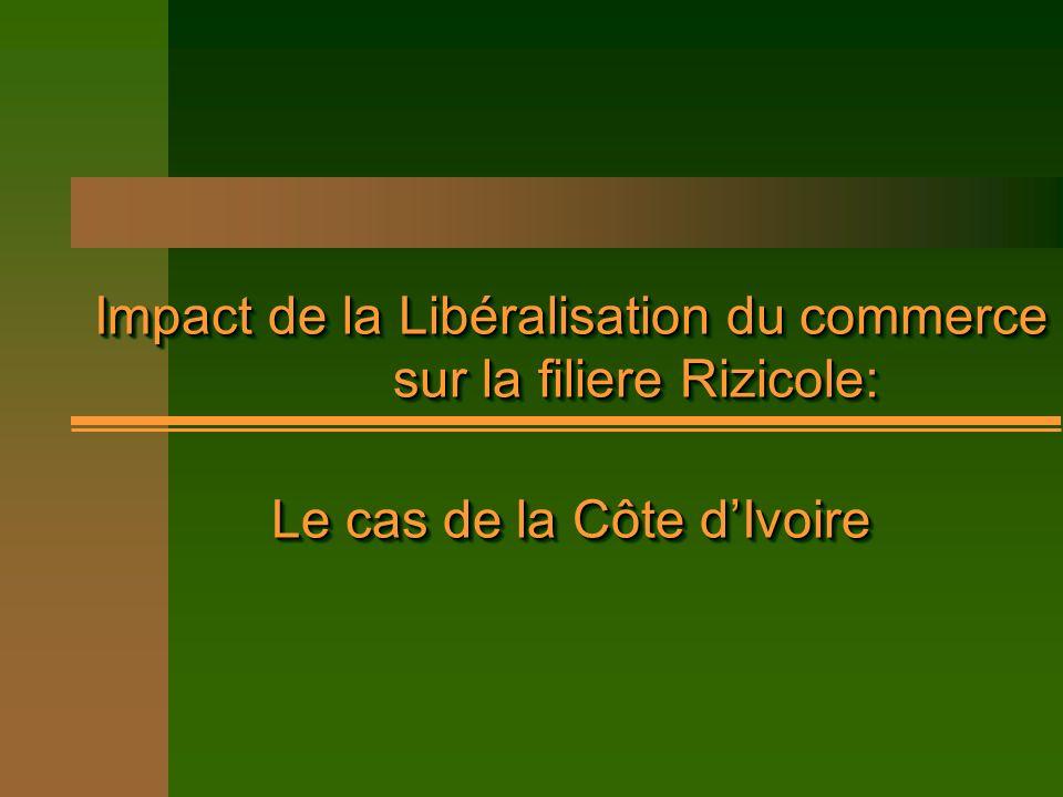 Le cas de la Côte d'Ivoire