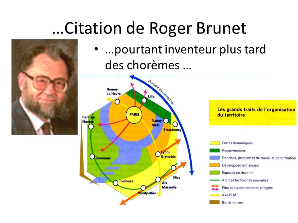 …Citation de Roger Brunet