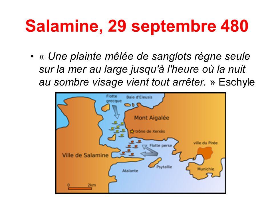 Salamine, 29 septembre 480
