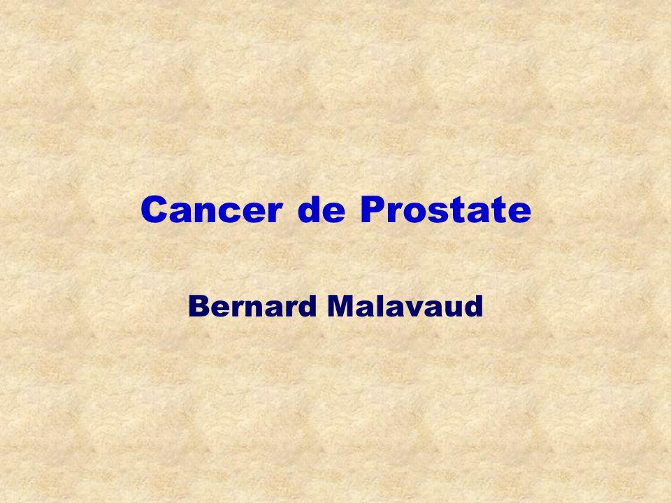 Cancer de Prostate Bernard Malavaud